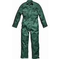 Mens Dickies Redhawk Coverall Overalls Boiler Suit Studden WD4819 Lincoln Green - L - Reg