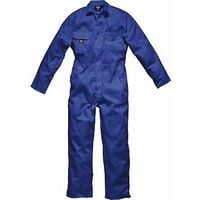 Mens Dickies Redhawk Coverall Overalls Boiler Suit Studden WD4819 Royal Blue - M - Reg