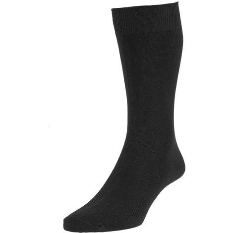 Mens SHORT Thermal boot shoe Socks 3pk, Black, UK 11-13 Eur 45-47,