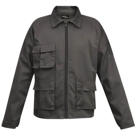 Men's Work Jacket Size XL Grey