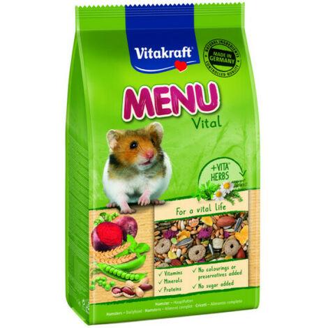 Menu Premium pour hamsters en sachet fraîcheur 800 g