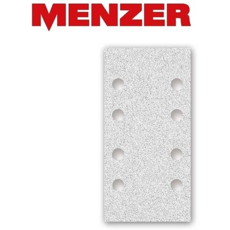 MENZER Klett-Schleifbögen, Korund mit Stearat, 180 x 93 mm, K40–400