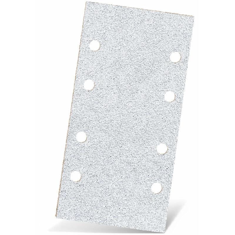 MENZER Red 50 Klett-Schleifb/ögen 8-Loch Normalkorund 180 x 93 mm f K240 Schwingschleifer