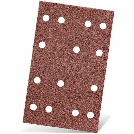 MENZER Klett-Schleifbögen, Normalkorund, 133 x 80 mm, K40–240