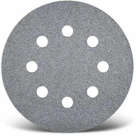 50 MioTools Klett-Schleifscheiben Exzenterschleifer 150 mm 8-Loch K40-400