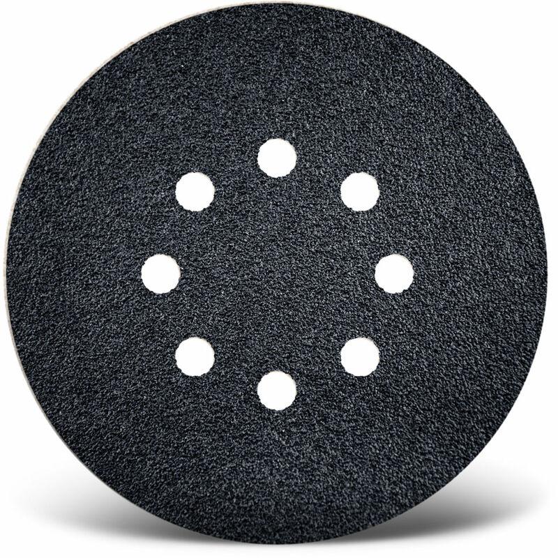 50 MENZER Klett-Schleifscheiben Exzenterschleifer 150 mm 9-Loch K40-800