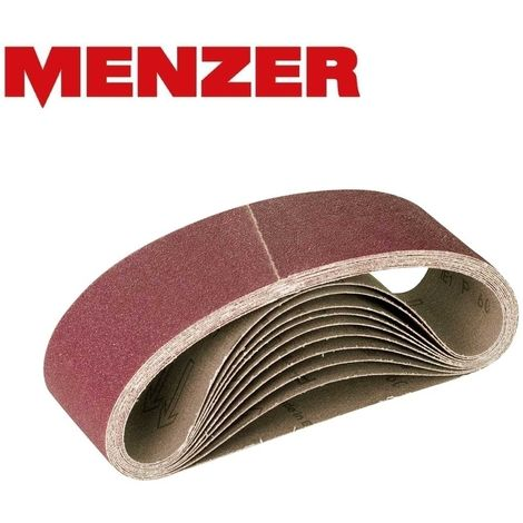 MENZER Schleifbänder, Normalkorund, 303 x 40 mm, K36–120
