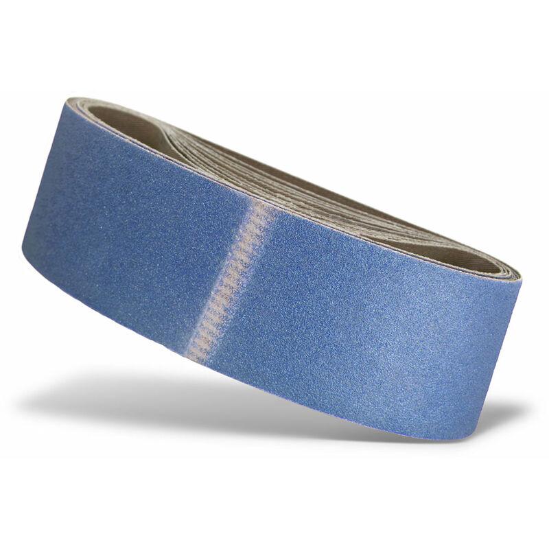 3 Gew.-Schleifb/änder Korund K120 75x510