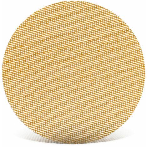 25 MENZER Ultranet Klett-Schleifgitter Exzenterschleifer 90 mm K40-400