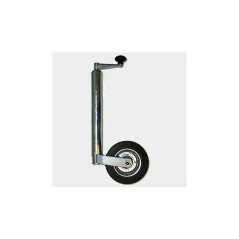 MercartoXL 362 kg - DM 48mm solide remorque de roue de la remorque de la roue support en caoutchouc roue avant