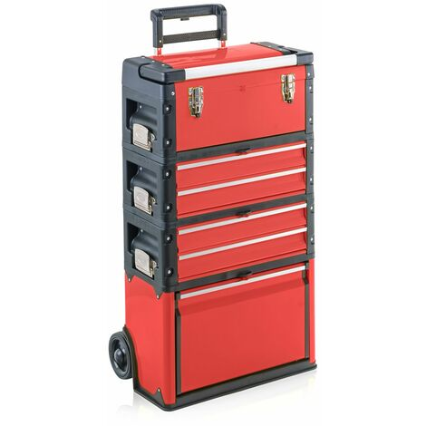 """main image of """"MercartoXL Chariot porte-outils, 4-1k.2.2.1 rouge Confort"""""""
