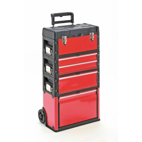 """main image of """"MercartoXL Chariot porte-outils, 4 fois 1k.1.2.1 rouge"""""""