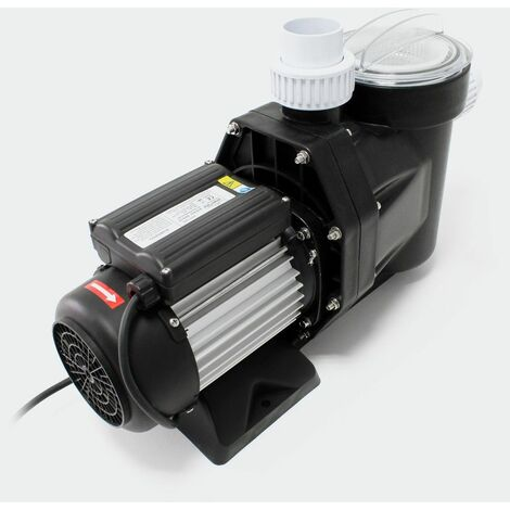 MercartoXL Piscine Pompe 19200l / h 750W nage pompe à filtre de la pompe de piscine pompe de circulation