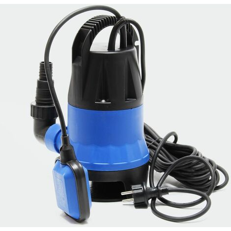 MercartoXL Pompe à eau sale 750W 12500 l / h pompe submersible pompe à jet d'eau de la pompe de jardin