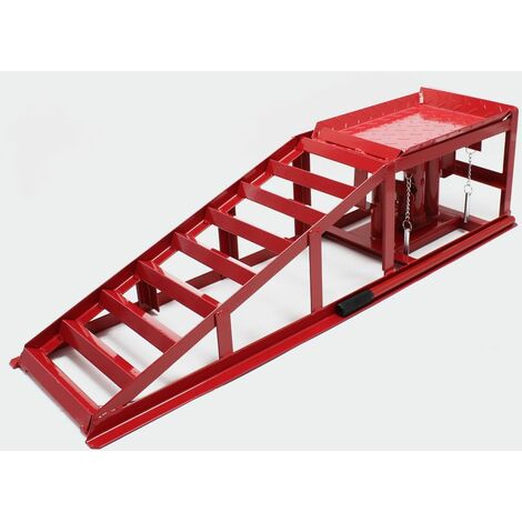 MercartoXL Rampe vérin hydraulique hauteur de 2000 kg réglable