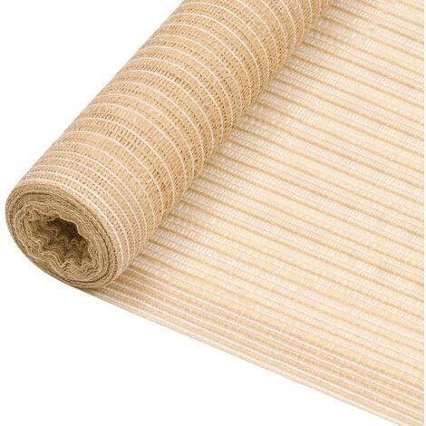 MercartoXL Trendy plissés à la crème 85x200cm romaine aveugle vie privée Plisseerollo