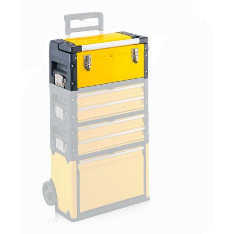 MercatoXL Toolbox, Trolley top box Comfort gialla