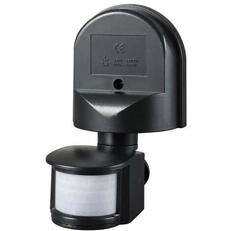 Meridian Lighting MDNPIR180B Wall Mounted PIR Motion Detector Black