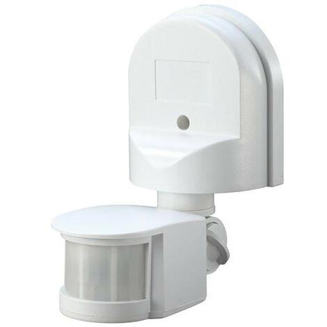 Meridian Lighting MDNPIR180W Wall Mounted PIR Motion Detector White