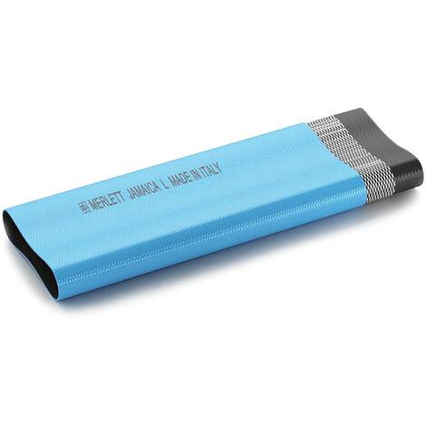 Mèrlett Jamaica L PVC-Flachschlauch Druckschlauch ID 76mm (3 Zoll) hellblau Meterware