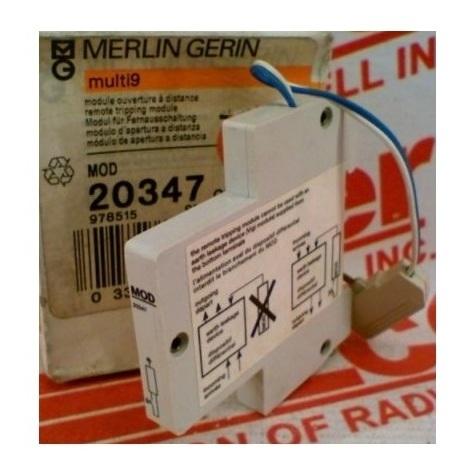 Merlin gerin 20347 Module ouverture à distance Vigi S 63A pour NC100