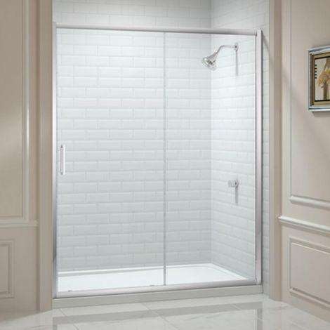 Merlyn 8 Series 1400mm Sliding Shower Door
