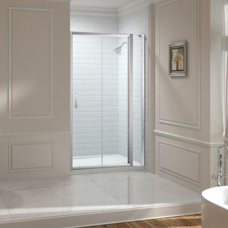 Merlyn 8 Series 1850mm Sliding Shower Door With Inline Panel