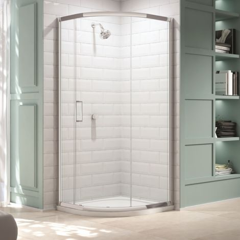 Merlyn 8 Series 900 X 900 1 Door Quadrant Shower Enclosure