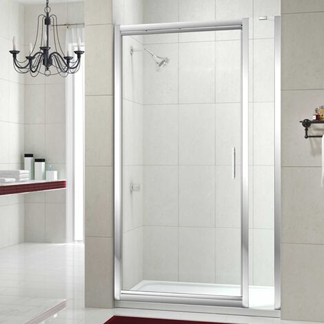 """main image of """"Merlyn 8 Series Infold Shower Door 900mm Wide and 210mm Inline - 8mm Glass"""""""