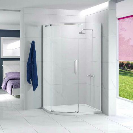 Merlyn Ionic Essence Offset Quadrant Single Shower Enclosure, 1200mm x 900mm, Left Handed