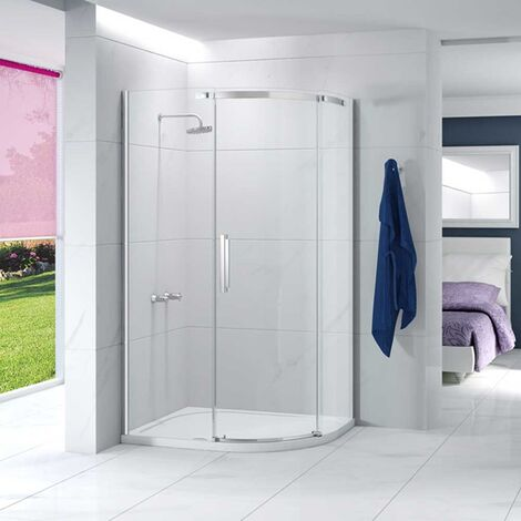 Merlyn Ionic Essence Offset Quadrant Single Shower Enclosure, 1200mm x 900mm, Right Handed