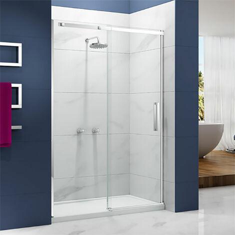 Merlyn Ionic Essence Sliding Shower Door, 1400mm Wide, 8mm Glass