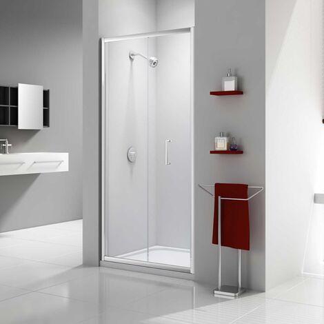 Merlyn Ionic Express Bi-Fold Shower Door, 1000mm Wide, 6mm Glass