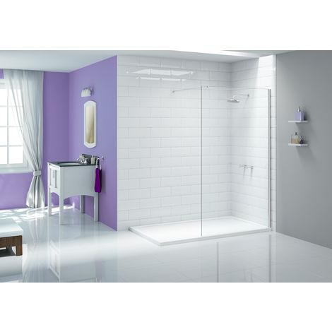 Merlyn Ionic Showerwall 400mm Wet Room Screen