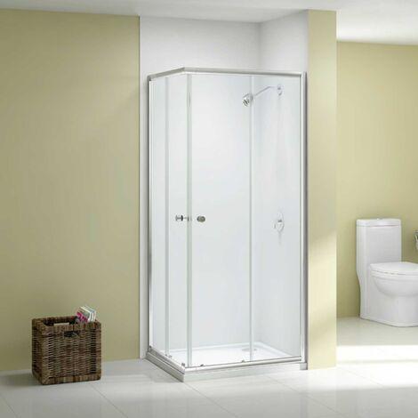 Merlyn Ionic Source Corner Entry Shower Enclosure 900mm x 900mm - 6mm Glass
