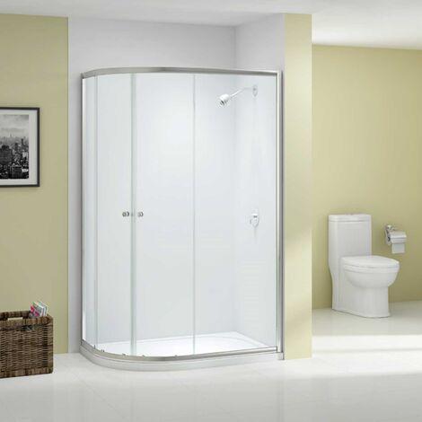 Merlyn Ionic Source Offset Quadrant Shower Enclosure 1000mm x 800mm - 6mm Glass