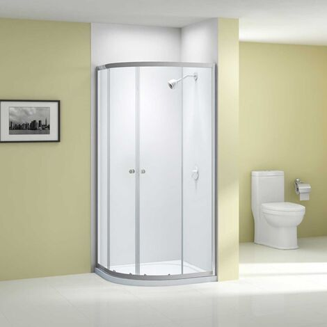 Merlyn Ionic Source Quadrant Shower Enclosure 800mm x 800mm - 6mm Glass