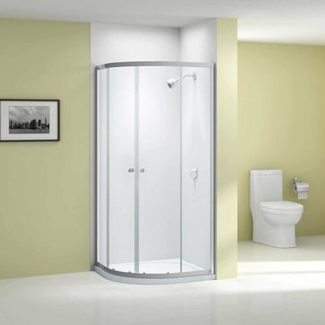Merlyn Ionic Source Quadrant Shower Enclosure 900mm x 900mm - 6mm Glass