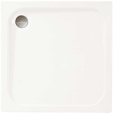 Merlyn Ionic Touchstone Square Shower Tray, 900mm x 900mm, White
