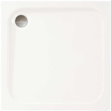 Merlyn Ionic Touchstone Square Shower Tray with Waste, 800mm x 800mm, White