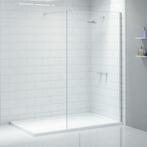 Merlyn Ionic Wet Room Glass Shower Panel 500mm W - 8mm Glass