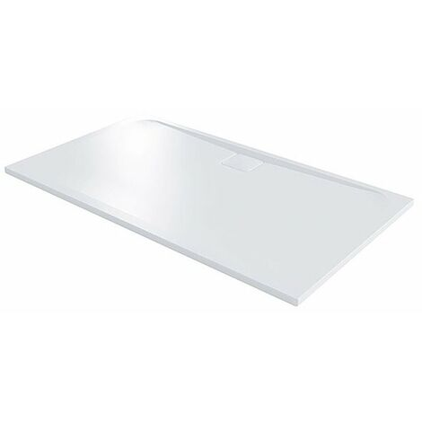 Merlyn Level25 Rectangular Shower Tray with Waste 1400mm x 800mm - White