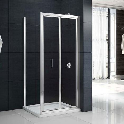Merlyn Mbox Bi-Fold Shower Door 1000mm - 4mm Clear Glass