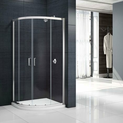 Merlyn Mbox Double Quadrant Shower Enclosure 800mm x 800mm - 6mm Glass