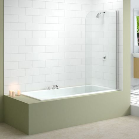 Merlyn Single Standard Bath Shower Screen