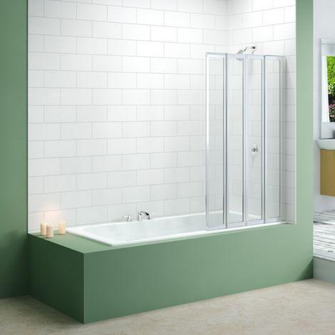 Merlyn Standard 4 Fold Bi Fold Bath Shower Screen