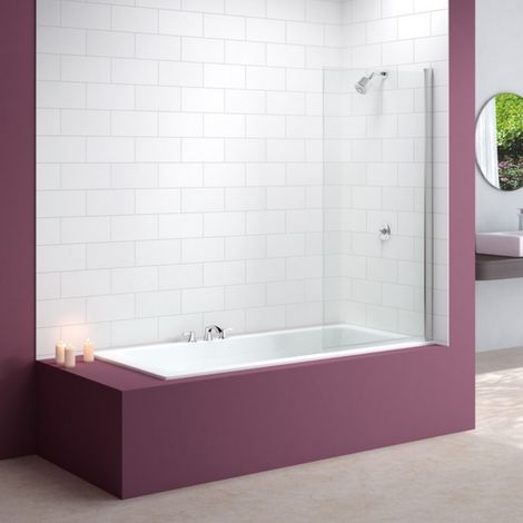 Merlyn Standard Square Bath Shower Screen