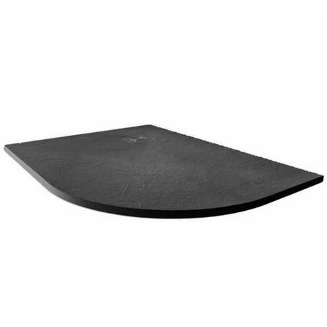 Merlyn Truestone 1200 X 900 Offset Quadrant Shower Tray Slate Black Rh