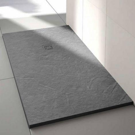 Merlyn Truestone 1400 X 900 Rectangular Shower Tray Fossil Grey