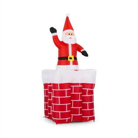 Merry Surprise Décoration de Noël gonflable 180cm LED